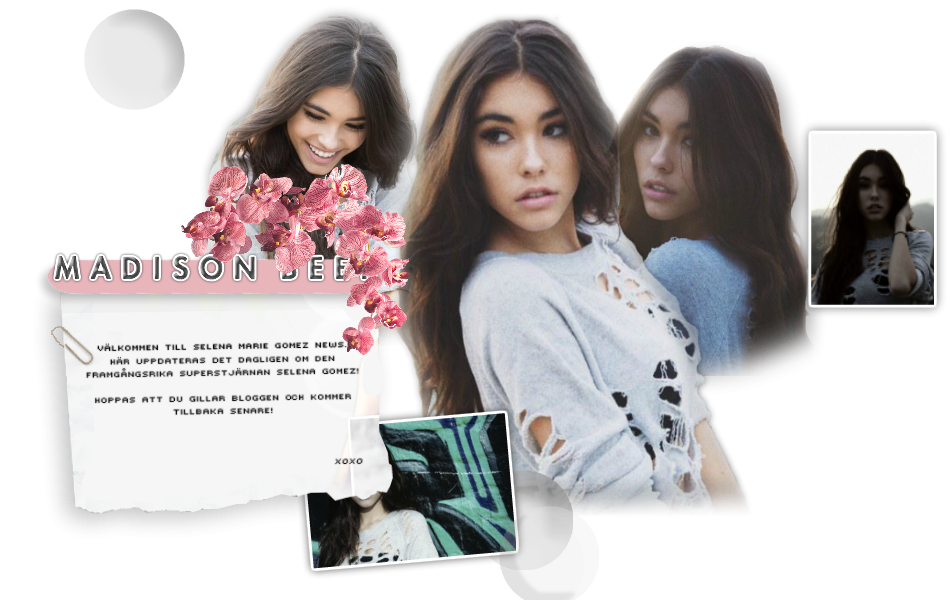 Madison Elle Beer | Första svenska Madison Beer fansidan